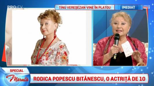 Rodica Popescu-Bitanescu, o actrita de 10